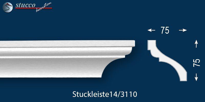 Styropor Stuckleiste Deckenleiste Trier 14