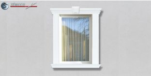 26. Fassaden Idee zur Fassadengestaltung: Fensterumrandung / Türumrandung