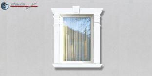 28. Fassaden Idee: Fassadenstuck Zierornamente zur Fensterumrandung