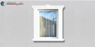 35. Fassaden Idee: Fassadenprofile zur Fensterumrandung / Türumrandung
