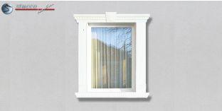 36. Fassaden Idee: Aussenstuck zur Fensterumrandung / Türumrandung