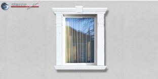 39. Fassaden Idee: Zierornamente in der Fensterverzierung / Türverzierung