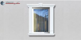 42. Fassaden Idee: Außenstuck zur Fensterumrandung / Türumrandung