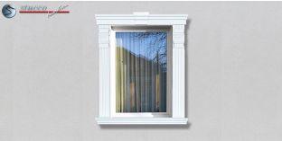 52. Fassaden Idee: Zierornamente in der Fensterverzierung / Türverzierung