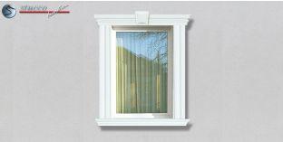 59. Fassaden Idee: Zierleisten als Fensterverzierung / Türverzierung