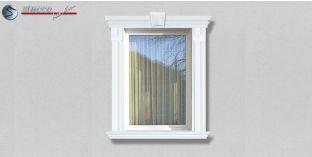 62. Fassaden Idee: Fassadenprofile zur Fensterumrandung / Türumrandung