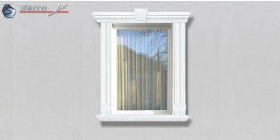 75. Fassaden Idee: Außenstuck zur Fensterumrandung / Türumrandung
