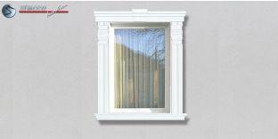 85. Fassaden Idee: Zierornamente in der Fensterverzierung / Türverzierung