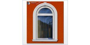 103. Fassaden Idee: flexible Stuckleisten zur Außenstuck Fensterverzierung / Türverzierung