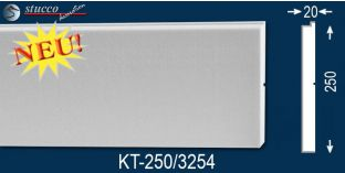 Laibungsprofil beschichtet Leipzig KT-250 mm tief