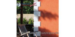 114. Fassaden Idee: Bossensteine zur Fassadendekoration