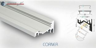 LED Aluschiene CORNER