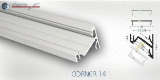 LED Aluprofil CORNER 14