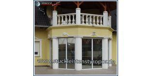 126. Fassaden Idee: Säulenverkleidung als Pilaster
