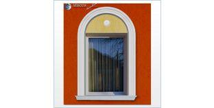 104. Fassaden Idee: flexible Stuckleisten zur Fassadenstuck Fensterverzierung / Türverzierung