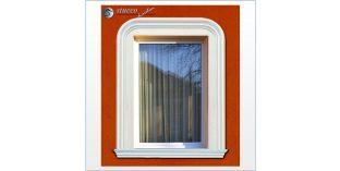 1. Fassaden Idee zur Fensterumrandung / Türumrandung
