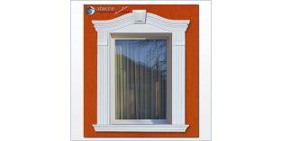 94. Fassaden Idee: Fassadendesign zur Fensterumrandung / Türumrandung