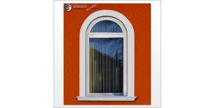 109. Fassaden Idee: flexible Stuckleisten für Fensterverzierung / Türverzierung zur Fassadengestaltung