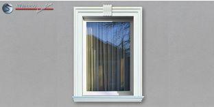 14. Fassaden Idee für Außenstuck zur Fensterumrandung / Türumrandung