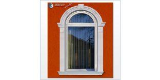 99. Fassaden Idee: flexible Stuckleisten zur Fassadenstuck Fensterverzierung / Türverzierung
