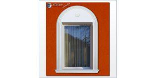 105. Fassaden Idee: flexible Stuckleisten zur Fassadenstuck Fensterumrandung / Türumrandung