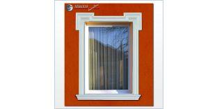 18. Fassaden Idee: Fassadenstuck für Fensterumrandung / Türumrandung
