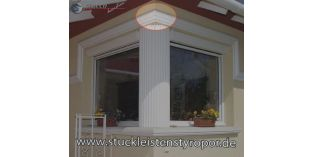 127. Fassaden Idee: Säulenschaft als Pilaster