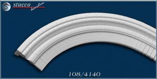 Fassadenstuck flexible Stuckleisten für inneren Bogen Ankara 108