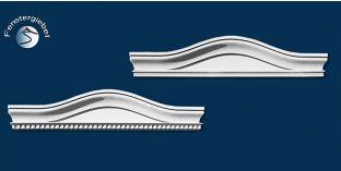 Fassadenstuck Bogengiebel
