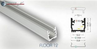 LED Alu Profil Floor 12
