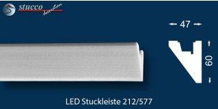 LED Stuckleiste für indirekte Beleuchtung Fulda 212