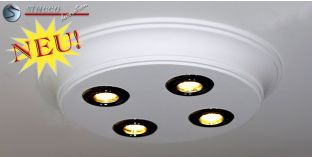 Design Stucklampe mit LED Spots Bayern 10/500x500-3