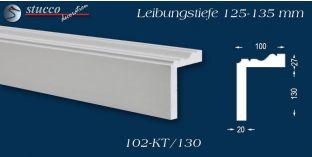 L-Profil für Laibung und Faschen Oxford 102-KT 125-135 mm