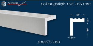 L-Profil für Laibung und Faschen Freetown 100-KT 155-165 mm