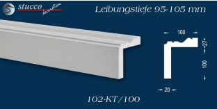 L-Profil für Laibung und Faschen Oxford 102-KT 95-105 mm
