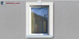 9. Fassaden Idee für eine Stuckfassade mit Fensterumrandung / Türumrandung