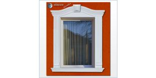 95. Fassaden Idee: Außenstuck zur Fensterumrandung / Türumrandung