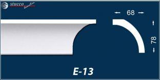 Styropor Deckenleisten E-13