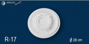 Stuckrosetten Marbet Design® R17