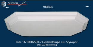 Trier 14-1000x500-2 Deckenlampe ohne LED Beleuchtung