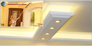 LED Leiste für Kombi Beleuchtung München 190+2x205 PLEXI PLUS