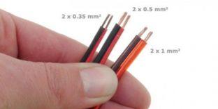 Verlängerungskabel zu LED Strips zweiadrig 0,35 mm2