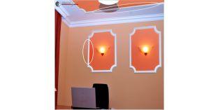 Styropor Deckenleisten und Wandleisten, Zierleisten Ibiza 54