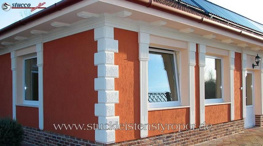 Ideen zur Fassadengestaltung Schritt für Schritt: 4. Bossensteine und Quadersteine
