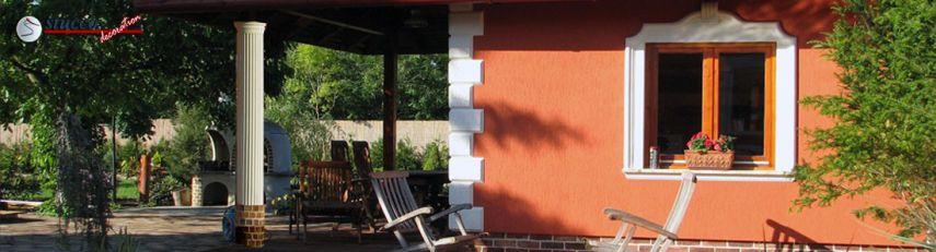 Bossensteine zur Fassadengestaltung
