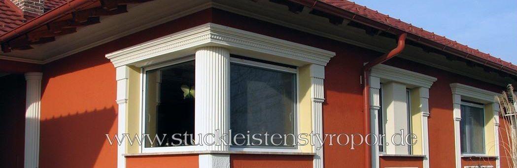 Säulen für Fenster