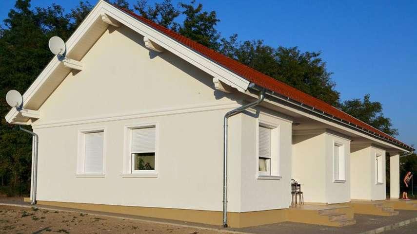 Ideen zur Fassadengestaltung Schritt für Schritt 1. Harmonische und dezente Fassadenverzierung