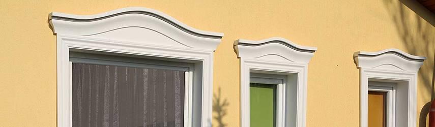 Ideen zur Fassadengestaltung Schritt für Schritt: 7. Komplette Fenstergiebel zur Fassadenverzierung