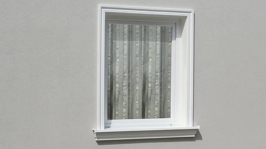 Ideen zur Fassadengestaltung Schritt für Schritt: 8. L-Profile für Fensterlaibung und Faschen