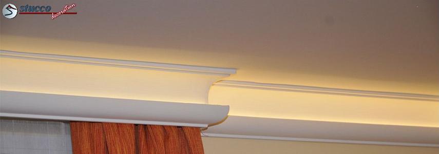 Vorhangleisten zu den LED Stuckleisten für indirekte Beleuchtung – Teil 1